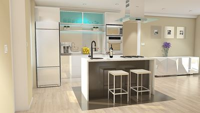 A Glimpse into the Online Kitchen Design Aspects